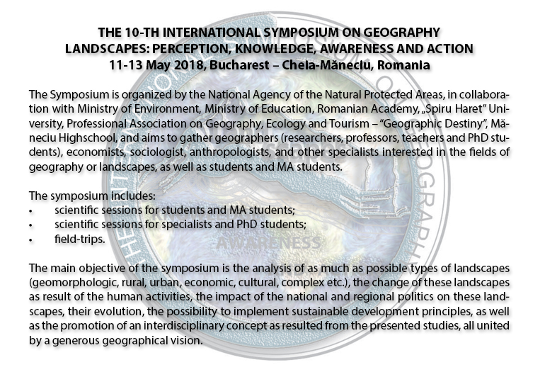 THE_10-TH_ INTERNATIONAL _SYMPOSIUM_ON _GEOGRAPHY_